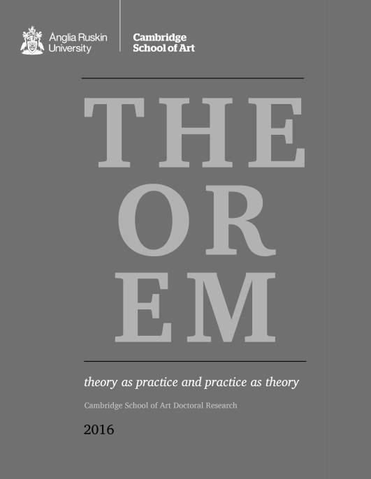 Theorem 2016 cover